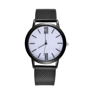 Класически дамски часовник - черен