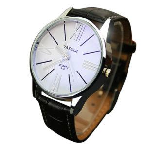 Луксозен мъжки бизнес часовник - черен