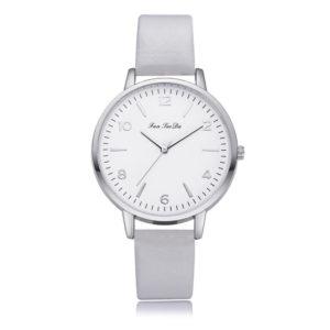Стилен дамски часовник - сив