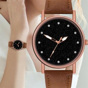 Луксозен дамски часовник - кафе