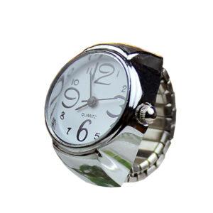 Дамски часовник Пръстен - сребрист