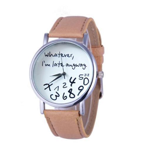 Елегантен часовник за вечно закъсняващи