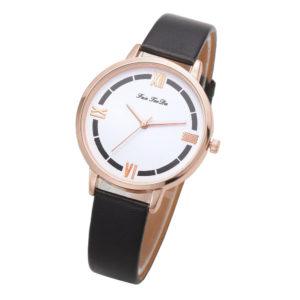 Луксозен дамски часовник - черен