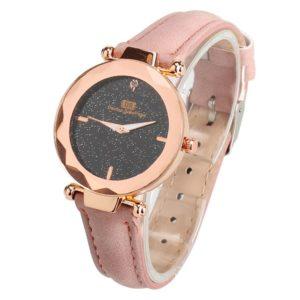 Елегантен дамски часовник - розов