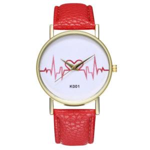Елегантен дамски часовник Пулс - черен