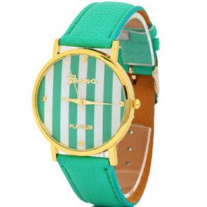Луксозен моден дамски часовник - зелен
