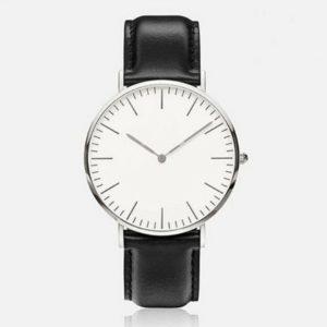 Елегантен дамски кожен часовник - класически