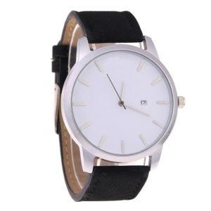 Стилен унисекс часовник - черен