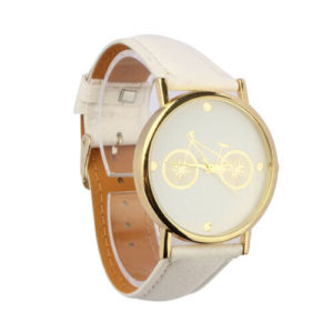 Елегантен унисекс часовник Колело - светъл