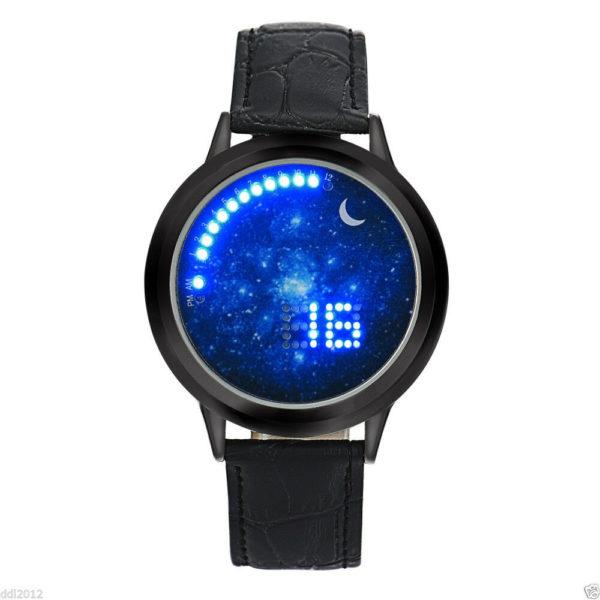 Електронен унисекс часовник Небе