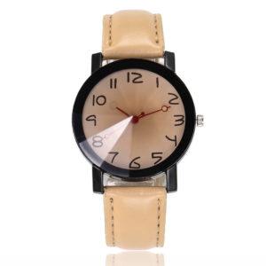 Стилен дамски часовник - кожен