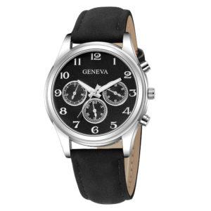 Красив мъжки часовник - черен