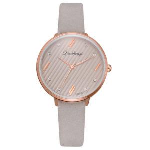 Луксозен дамски бизнес часовник - сив