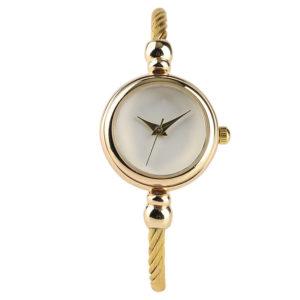 Луксозен дамски часовник Мини - златен