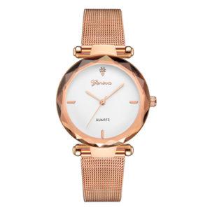 Луксозен дамски часовник Geneva – златист