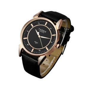 Луксозен мъжки часовник - черен
