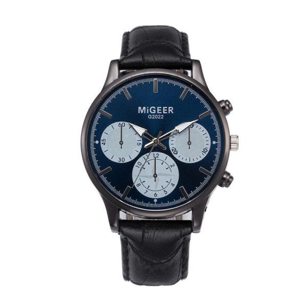 Луксозен мъжки часовник Migeer - черен