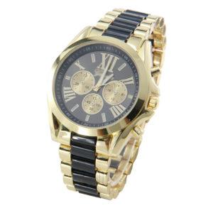 Мъжки луксозен часовник - златно/черно