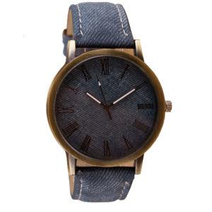 Стилен мъжки часовник - дънков