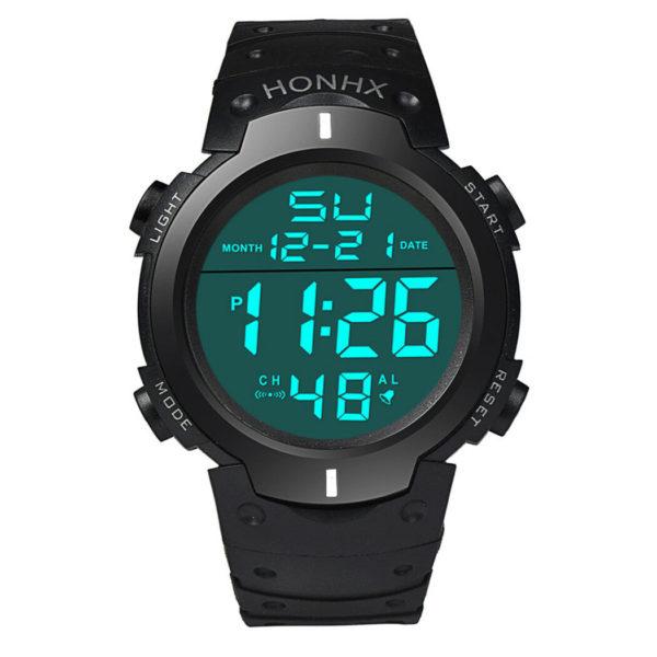 Спортен мъжки часовник - водоустойчив