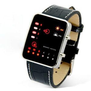 Спортен LED часовник - черен