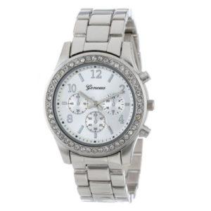 Сребърен дамски часовник Geneva