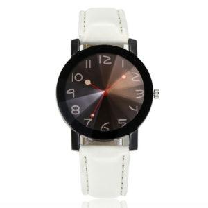 Стилен дамски часовник Фешън - бял