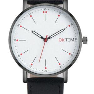 Луксозен мъжки часовник OK TIME - черен