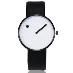 Унисекс часовник Абстрактен - черно бял